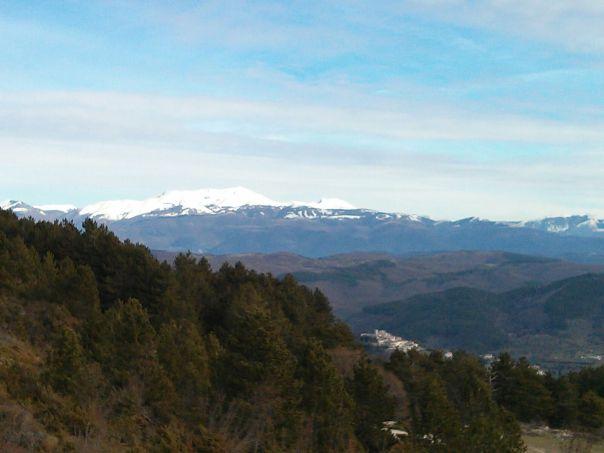 Vista-dal-tancia - Escursione-Monti-Sabini