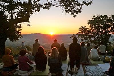 Yoga Le Nuvole - Ritiro Monte Amiata 6