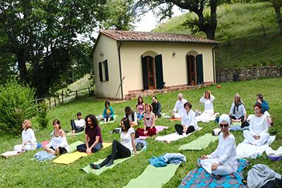 Yoga Le Nuvole - Ritiro Monte Amiata 8