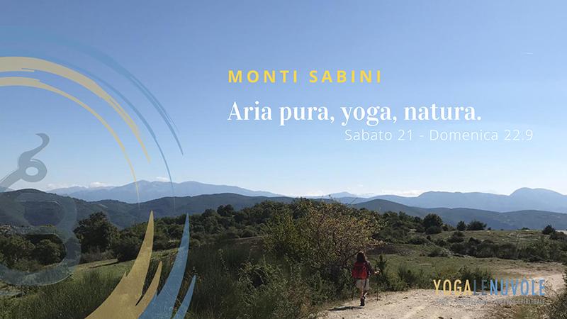 Escursione Yoga Sul Monte Ode In Sabina