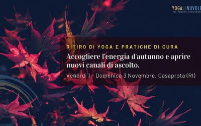 Ritiro di yoga, meditazione e pratiche di cura